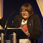 Ali Smith | Ali Smith speaks at the H G Wells Lecture at the Edinburgh International Book Festival © Helen Jones