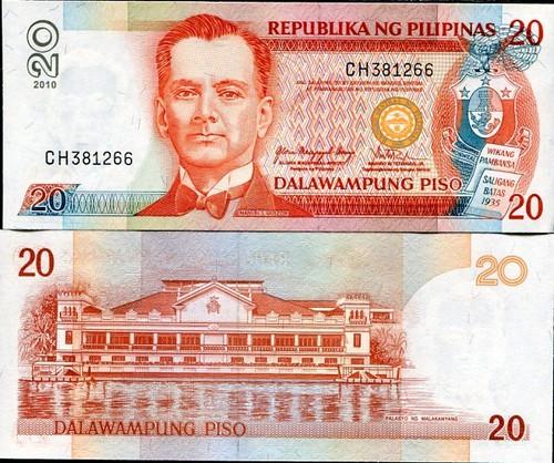 20 Piso Filipíny 2010