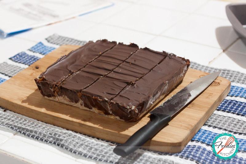 Millionaire Chocolate Squares