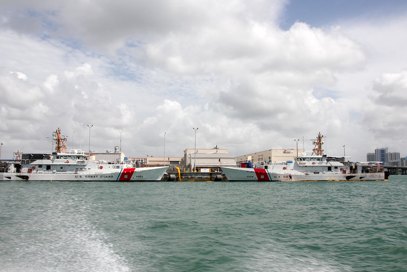 US Coast Guard in Miami