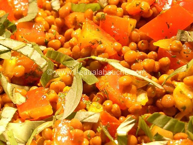 Salade de Lentilles © Ana Luthi Tous droits réservés 001