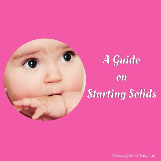 Guide to Start solid foods