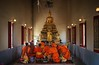 Wat Chi Suk Kasem monastery where a community of monks lives in seclusion by B℮n