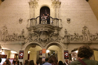 Phantom of the Opera - Orpheum Theatre lobby wall