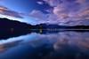 Dawn at Sun Moon Lake 日月潭