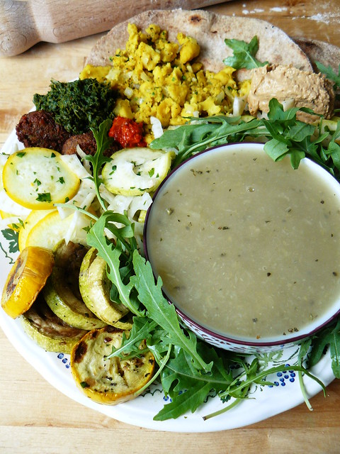 Fennel soup and leftovers