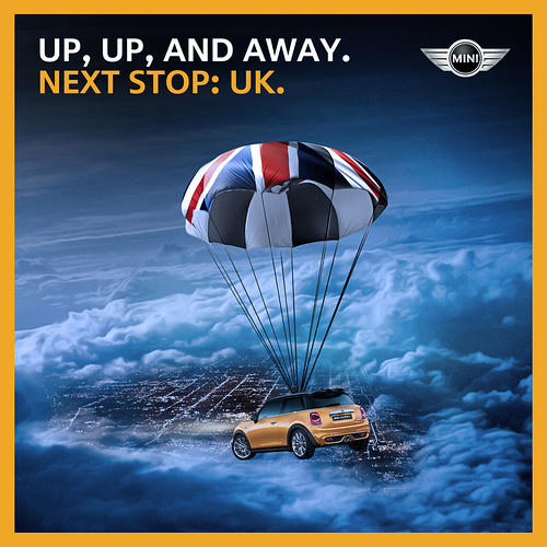 Mini Cooper sale and get a free trip to the UK