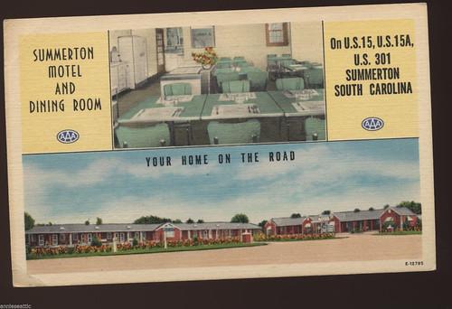 Summerton Motel front