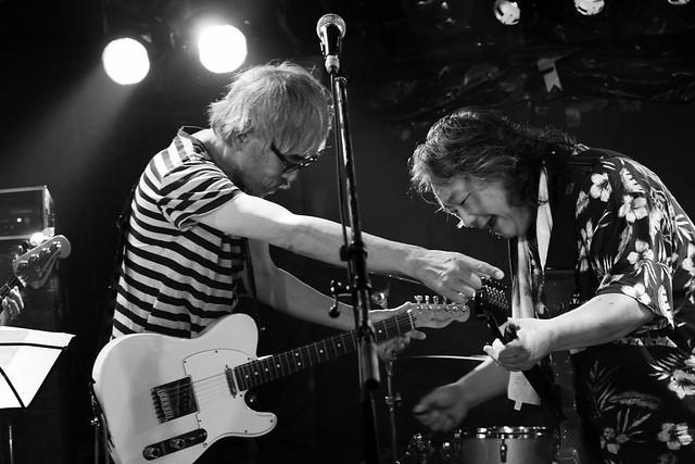ファズの魔法使い live at Outbreak, Tokyo, 29 Sep 2015 - jam with Hideto Takenaka. 297