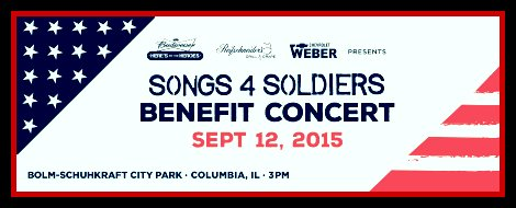 Songs 4 Soldiers 9-12-15