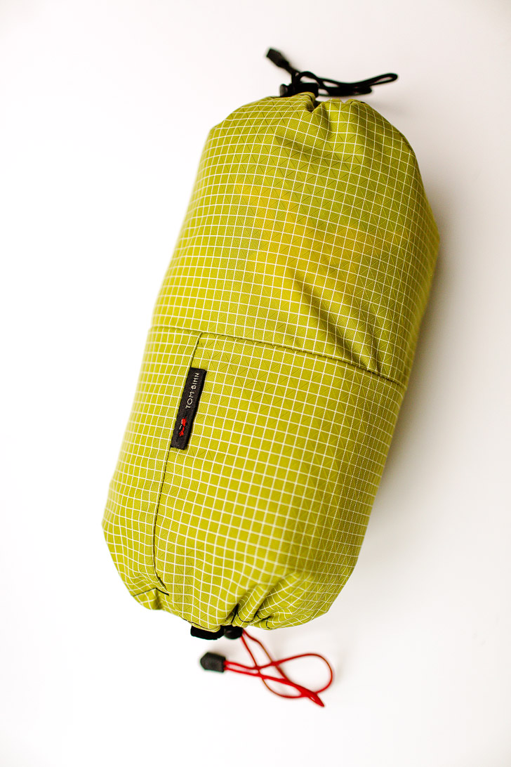 Travel Laundry Stuff Sack for the Tom Bihn Aeronaut 30.