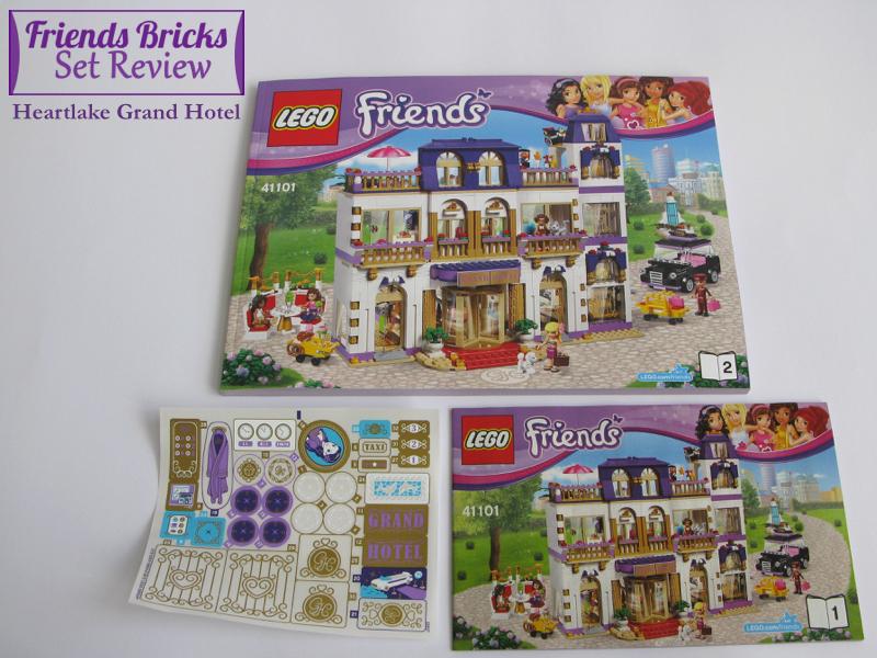 Heartlake Times Review 41101 Heartlake Grand Hotel