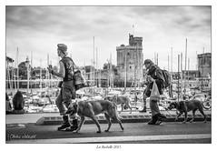 Dans les rues de La Rochelle (noir & blanc)