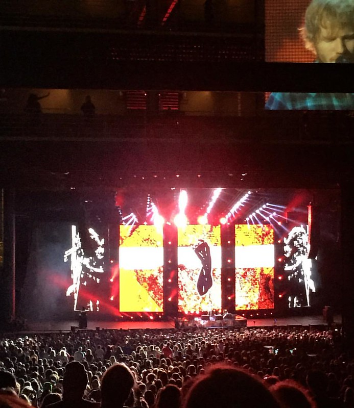 Amazing Performance Under the Stars - Ed Sheeran #concert #music #edsheeranconcert