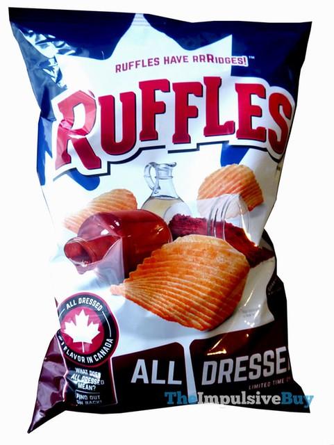 Ruffles Limited Time Only All Dressed Potato Chips