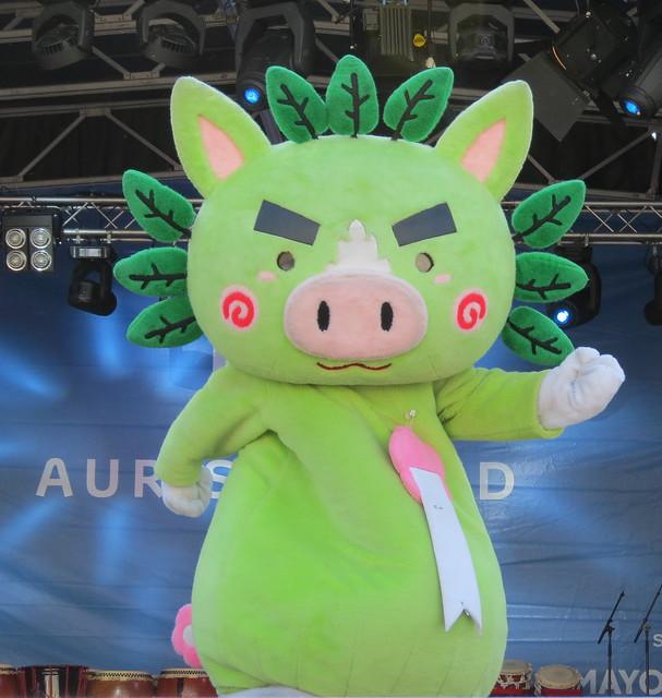 Kagoshima mascot Guribu