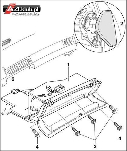 70944 - Instalacja przełącznika deaktywacji poduszki pasażera AIR BAG OFF - 11