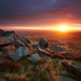 West Nab Autumn Sunrise I by Chris Nickerson