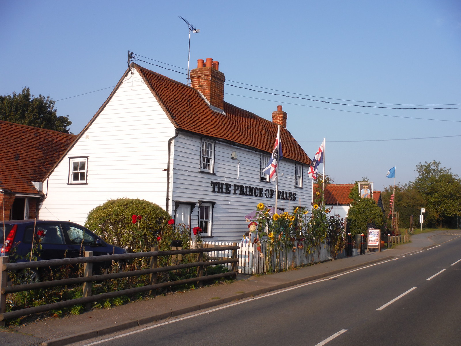 The Prince of Wales, Stow Maries SWC Walk 159 South Woodham Ferrers to North Fambridge