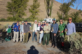 2015 Cottonwood S.P. fence mapping trip