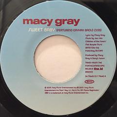 MACY GRAY:SWEET BABY(LABEL SIDE-A)