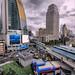Intersection of Asoke and Sukhumvit - Bangkok by Asiacamera