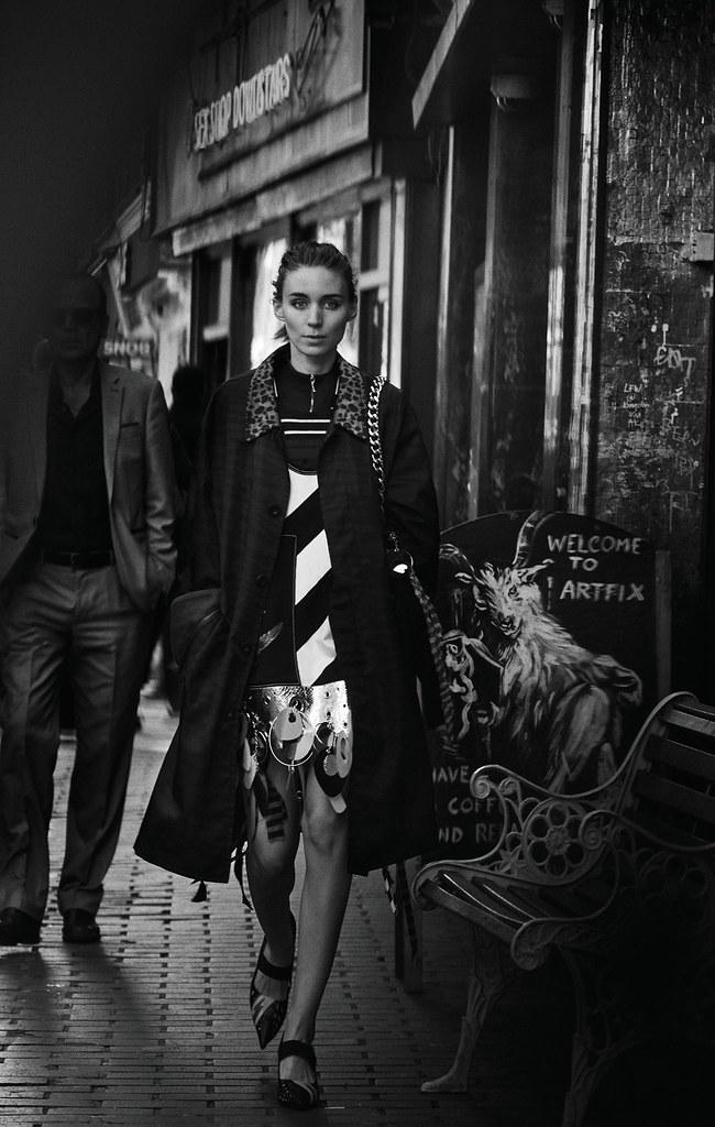 Руни Мара — Фотосессия для «Interview» 2015 – 2
