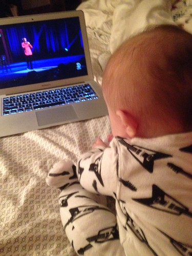 Josephine Watching Brian Regan Live
