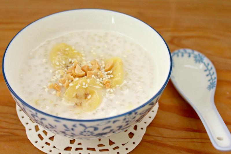 Banana sweet soup