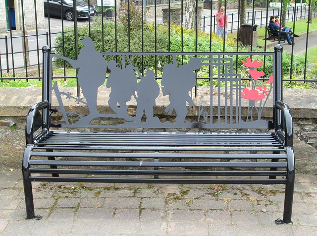 Pitlochry War Memorial Bench