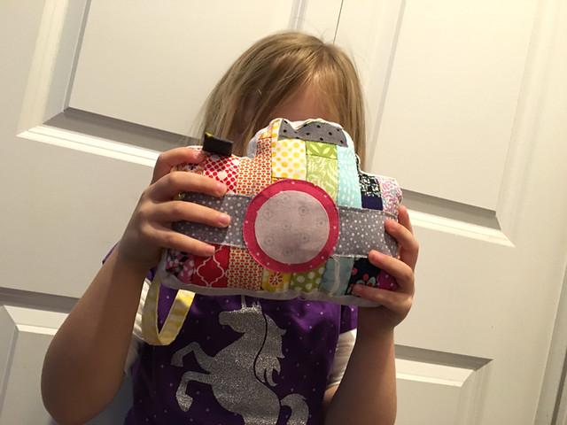 Little Photographer's Camera Stuffie