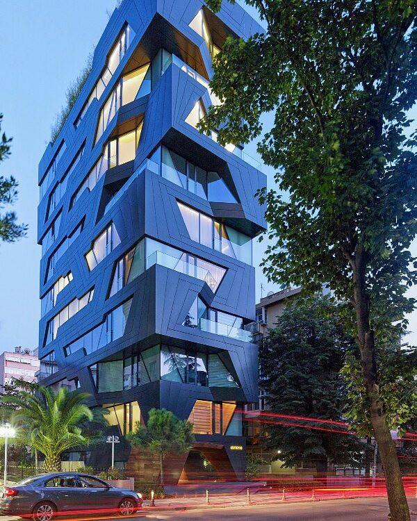 Apartman 18 by Aytac Architects. Location: #İstanbul #Turkey #architectdesigne Tag your friends. - studiomagic.bangalore