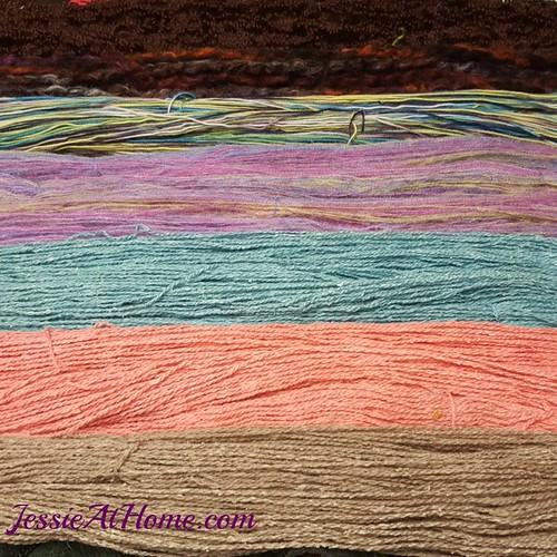 Clean-yarn-drying