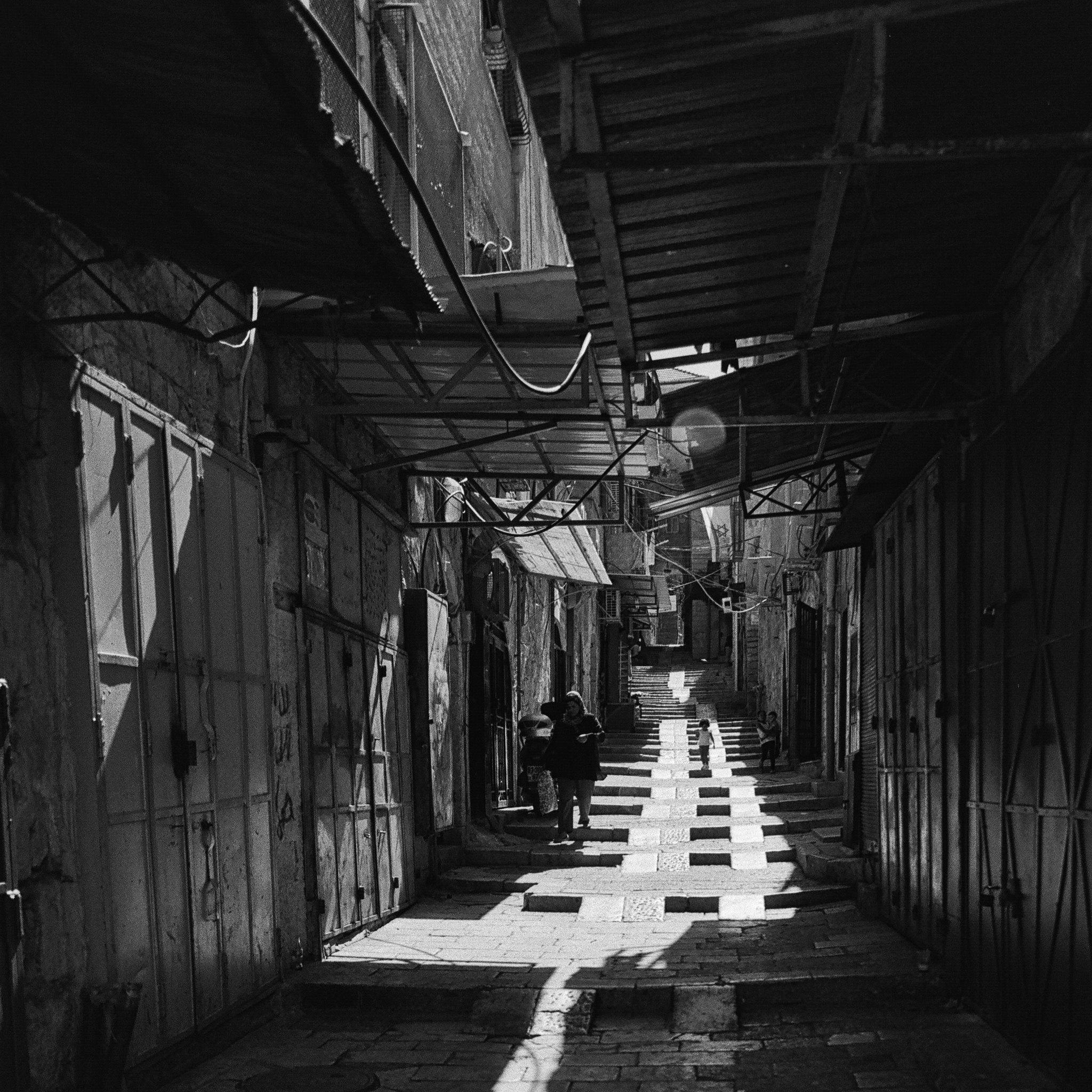 Old City Shadow Path