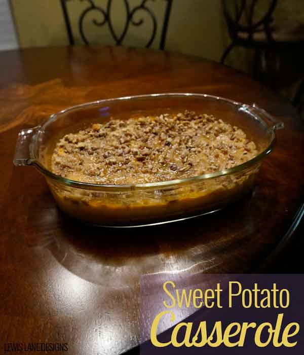 Sweet Potato Casserole by Lewis Lane