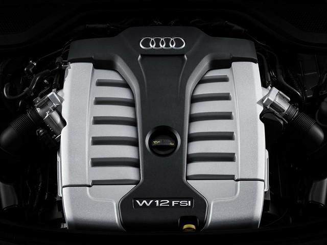 Двигатель Audi A8 D4. W12 TFSI мощностью 500 л.с.