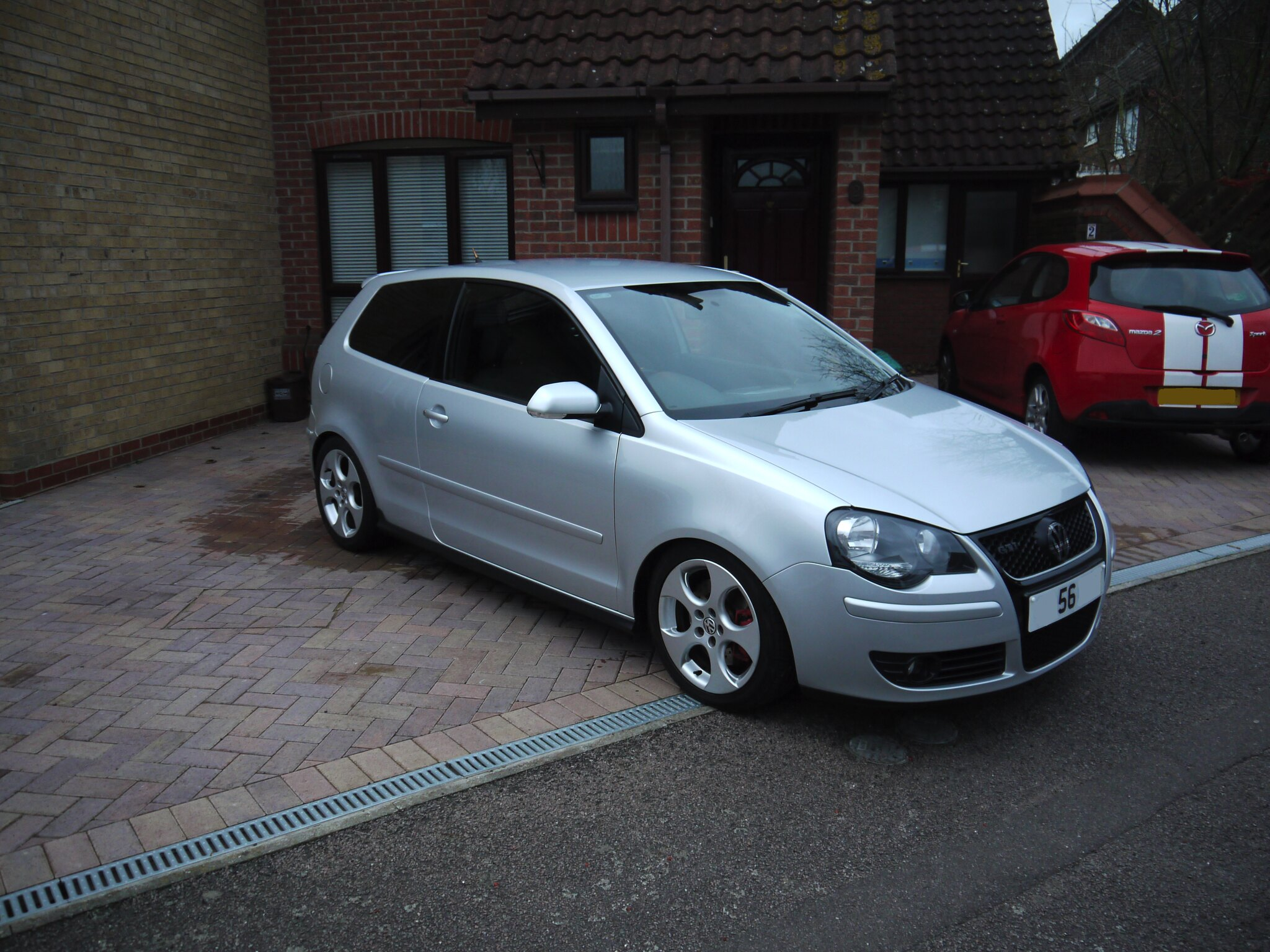 2007 polo 9n3 1 8t gti 3dr silver for sale uk polos net. Black Bedroom Furniture Sets. Home Design Ideas