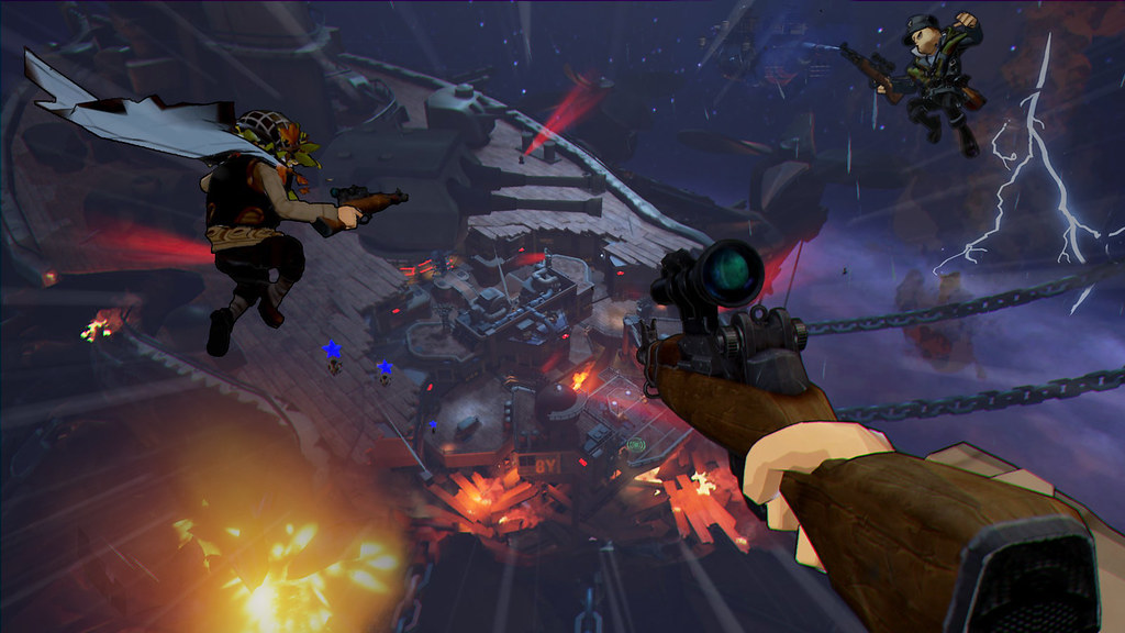 Shooter Games For Ps3 : Check out colourful vr shooter world war toons coming