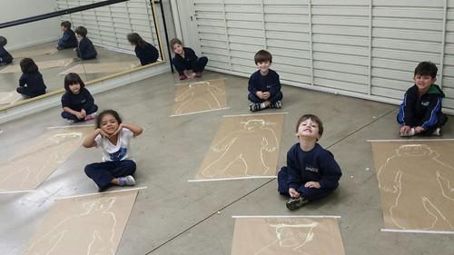 Desenhando o corpo humano - unidade da serra