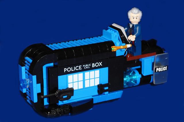 Doctor Who's TARDIS Speeder