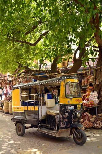 India - Rajasthan - Jodhpur - Streetlife - Auto Rickshaw