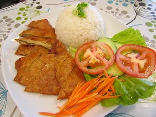 Soy Crispy Chicken Rice