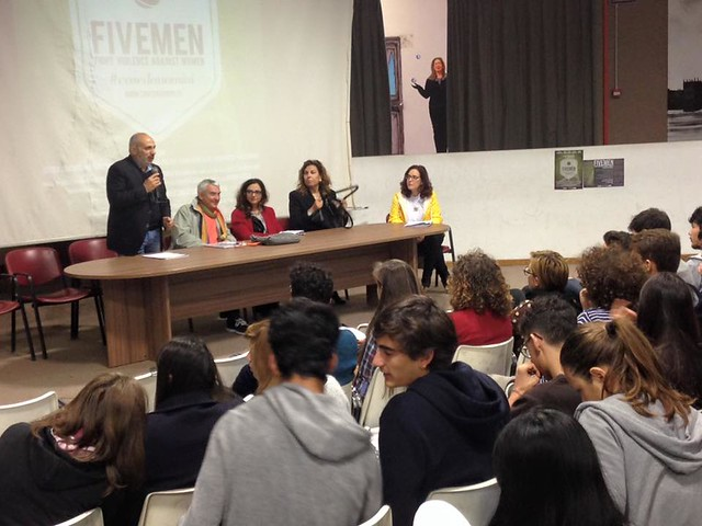 five men liceo scientifico