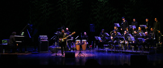ENM BIG BAND PLAYS JACO PASTORIUS - FESTIVAL DE JAZZ LEÓN - AUDITORIO CIUDAD DE LEÓN 21.12.15