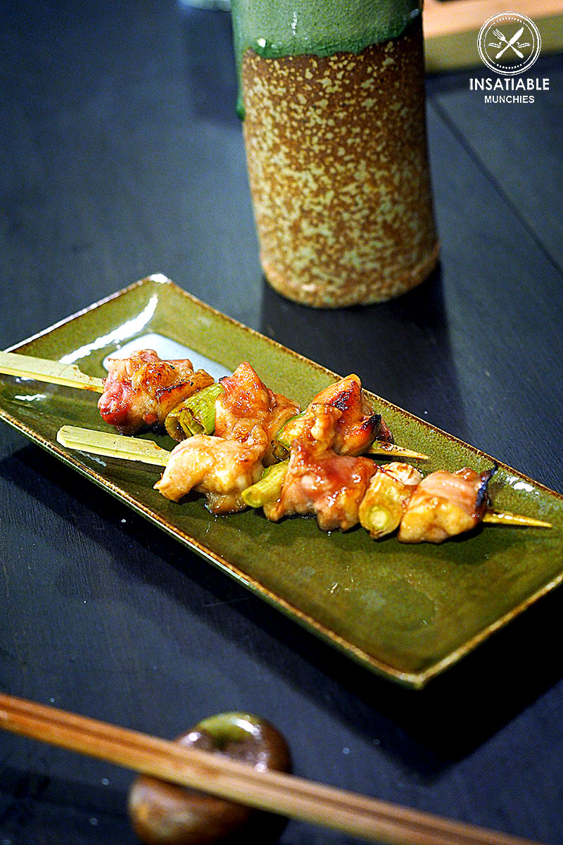 Chicken and Shallot Skewer, Yurippi, Crows Nest: Sydney Food Blog Review