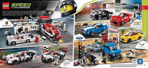 LEGO Speed Champions 2016