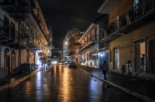 Panama, the old city