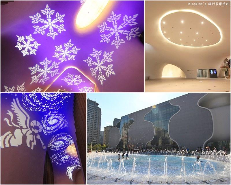 台中歌劇院光雕 台中耶誕 台中聖誕活動 臺中國家歌劇院 臺中國家歌劇院聖誕 聖誕燈光秀 歌劇院聖誕燈光0