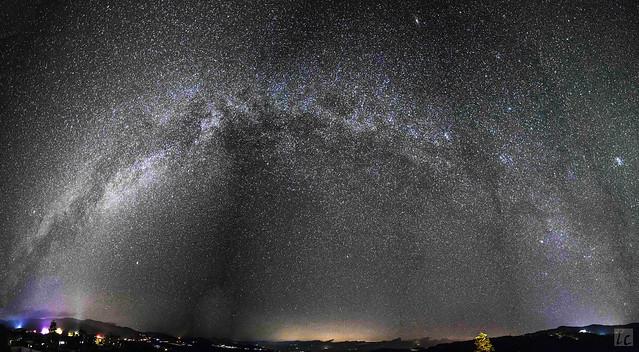 Milky Way, Yuanyang 2016