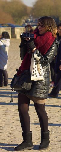 Girl Shooting Versailles
